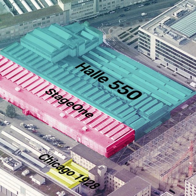 Halle 550 Zurich Switzerland Birdview